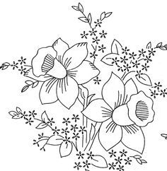 Old Embroidery Transfer 582 Flowers Bleeding Heart Pansy Violet Forget me nots… Embroidery Designs, Embroidery Software, Embroidery Transfers, Machine Embroidery Patterns, Crewel Embroidery, Vintage Embroidery, Embroidery Techniques, Flower Embroidery, Embroidery Thread