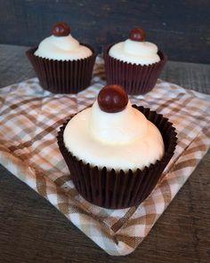 Cupcakes di brownie