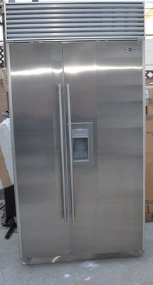 42 SUB-ZERO 680 BUILT-IN WITH DOOR DISPENCER STAINLESS STEEL EXCELLENT CONDITION on eBay!
