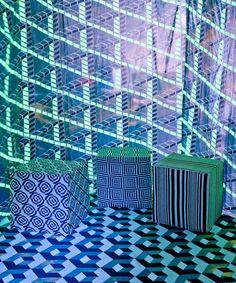 geometric fabric by Kristina Lilliestam : Exit 2012