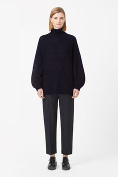 COS | High-neck mohair jumper