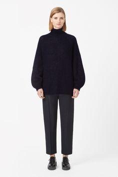 COS | High-neck mohair jumper