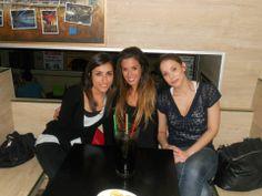 Disfrutando en Pippermint Bar!