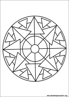 Desenhos de mandalas - Google Search