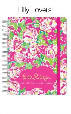 Lilly Pulitzer 2014- 2015 Large Agenda Planner