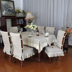 forros para sillas de comedor