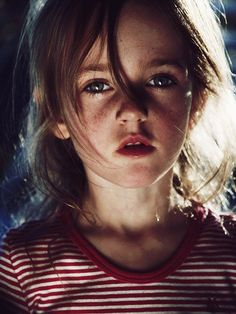 Your character sees a young girl (about 8 or 9 yrs old) running through the woods. She's crying and scared. A flash drive is hanging from a chain around her neck; she refuses to let anyone touch it...
