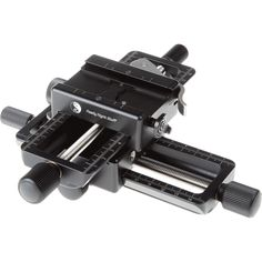 """Really Right Stuff Macro Focusing Rail Package for Geared Motion in """"X """" & """"Y """" axes. Package includes two B150-B macro rails,"""