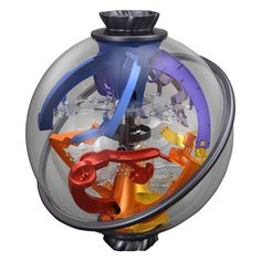 Perplexus Twist by PlaSmart - $27.95. My 4 year old has mastered the other three perplexus balls. I think this will be next.
