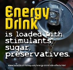 Has Anyone Told You About Energy Drink Side Effects?