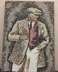 #atatürk #mustafakemal #pebbleart #pebblemosaic #çakıltaşı #mozaika #mozaik #art bittii Pebble Mosaic, Mosaic Art, Pebble Stone, Stone Art, Stone Sculpture, Sculpture Art, Rock And Pebbles, Marble Art, Stone Painting