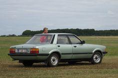 1979–1982 Ford Taunus TC3 4-door highlighting the enlarged rear lights
