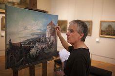 Chaque Année le Louvre accorde 250 Autorisations à des Artistes pour copier le Chef-d'œuvre de leur Choix (3)
