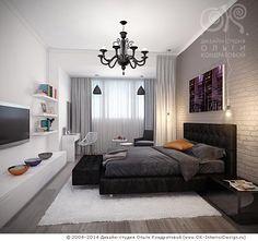 Дизайн спальни в лофте. Современные идеи интерьера