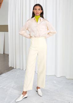 8ba7c007 13 Best Cream trousers images in 2019