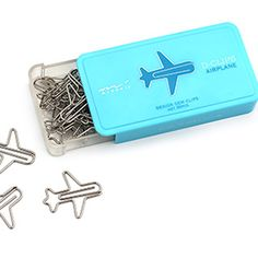 Airplane Paper Clips | Via Travel + Leisure
