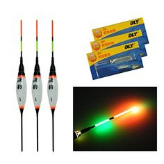 3 Pcs/Lot #1 Electronic LED Fishing Floats Bobbers Buoyan...
