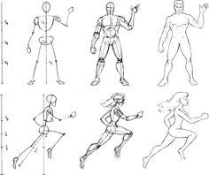 Start from a Stick Figure - Cartooning