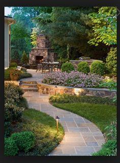 Amazing backyard entertaining area!