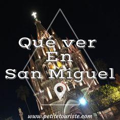 Lugares que visitar en San Miguel de Allende, México