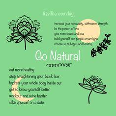 Going Natural, Black Hair, Tattoo, Eat, Healthy, Hair Black Hair, Tattoos, Health, Tattos