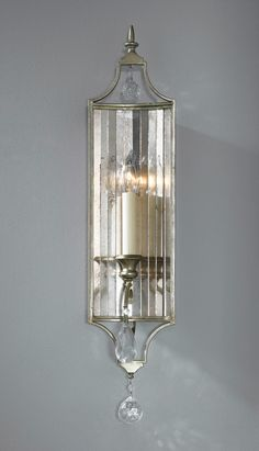Feiss WB1447GS Gianna 1 Light 6 inch Gilded Silver Wall Sconce Wall Light WB1447GS.jpg