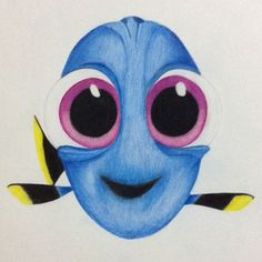 Drawing i did of baby dory drawing in 2019 рисунки, наброски Disney Character Drawings, Cute Disney Drawings, Cute Drawings, Dory Drawing, Painting & Drawing, Cartoon Drawing Tutorial, Cartoon Girl Drawing, Cartoon Drawings Of Animals, Animal Sketches