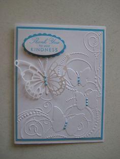 Darice embossing folder | All Handmade card ideas | Pinterest