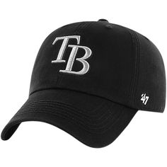 buy online c7536 3f3b5 Men s Tampa Bay Rays  47 Black Black Out Franchise Fitted Hat, Your Price