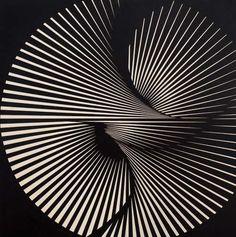 """Franco Grignani """"Torsione radiale"""", 1965 #MuseoNovecento #Arte #Art #modernart"""