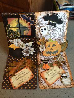 Halloween Cards Inside