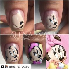 Trendy Nails Disney Designs Art Tutorials in 2020