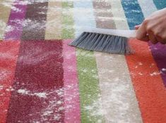 Evde Yıkamadan Halı Temizleme