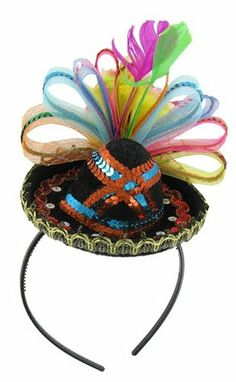 Sombrero Headband #photobooth prop #headbands