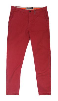 Superdry Mens Commodity Slim Chino - Dusted Red – Moyheeland Traders perfect for a stylish man! £47.50 + free p&p http://moyheelandtraders.com/products/superdry-mens-commodity-slim-chino-dusted-red