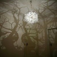 DLGH Forms in Nature' Tree Shadow Light by Hilden & Diaz