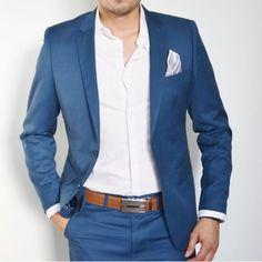 Résultats de recherche d'images pour «costume homme bleu»