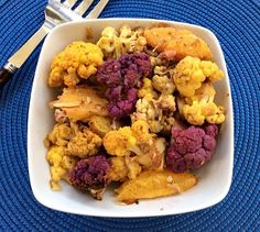SIMPLY 123 ALLERGY FREE: Colorful Roasted Cauliflower With Oranges and Almonds