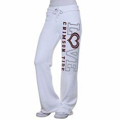 My U Alabama Crimson Tide Love Bird Knit Pant - White
