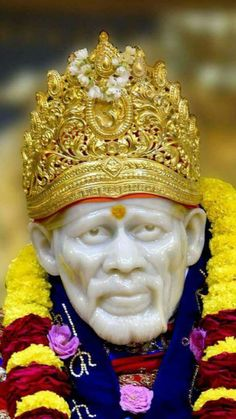 "One of his most famed sayings was ""God is the Owner of us All"". Take a look at most stunning Shirdi Sai Baba Images in HD here. Sai Baba Hd Wallpaper, Hanuman Wallpaper, Sai Baba Pictures, God Pictures, Shirdi Sai Baba Wallpapers, Lord Murugan Wallpapers, Sai Baba Quotes, Lakshmi Images, Durga Images"