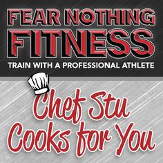 CHEF STU COOKS FOR YOU - Official Stuart Reardon - https://www.youtube.com/user/rayray595 - English Rugby Player, Model & Trainer- Managed by Ellie@LoveNBooks.com - Chef Stu Cooks for You presents Stuart Reardon cooking a selection of his Fear Nothing Fitness Meal Plan recipes.