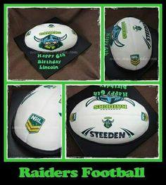 Raiders Football Cake #cake #birthday #muddacake