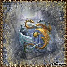 Dragon Blingee | 09.03.11Logo for my son Sebastien to Youtube