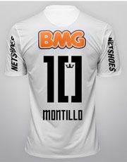 Pré-venda - Camisa Nike Santos I 12 13 nº 10 - Montillo f3699c598f004
