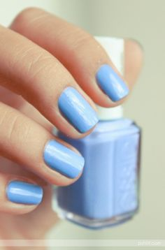"""Essie """"Bikini-so-teeny"""" - now that is a color I would wear!"""