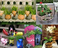 Whether you live in an apartment with only limited space or just need a spot of color in a location, container gardening offers a great way to brighten you. Outdoor Projects, Projects For Kids, Recycled Crafts, Diy Crafts, Recycled Materials, Mulberry Bush, Planting For Kids, Spring Crafts For Kids, Herbs Indoors
