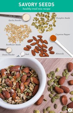 21 Healthier Trail Mix Recipes to Make Yourself #diy #trailmix #snack