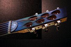 Bildresultat för custom made acoustic guitar bridges Cigar Box Guitar, Music Guitar, Cool Guitar, Guitar Diy, Guitar Parts, Custom Bass Guitar, Custom Guitars, Classical Acoustic Guitar, Archtop Guitar