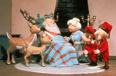 The Year Without A Santa Claus; one of my favorite movies!! Heat Miser and Cold Heart