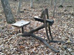 Tree fork shave horse 2.1